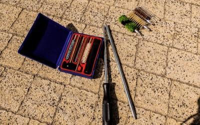 szczotki do czyszczenia broni